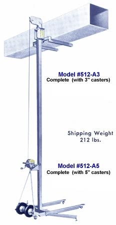 512A Multi-Purpose Lifts, Installation Lifts, Maintenance Lifts