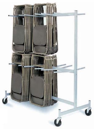 Hanging Folded Chair Storage Trucks