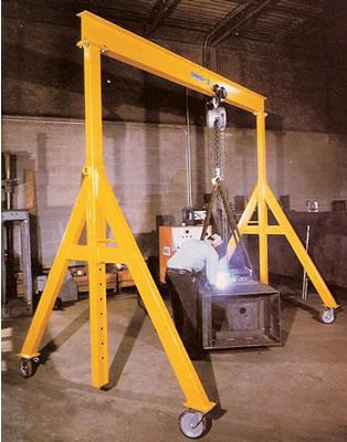 Adjustable Height Steel Gantry Cranes Gantry Gantry Crane