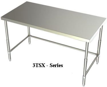 Adjustable Stainless Steel Work Benches, Benches, Work Table, Industrial  Work Tables