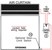 air_curtain_1_2_hp_std_draw2 air curtain door, air curtains, air doors, mars air curtain, mars mars air curtain wiring diagram at creativeand.co