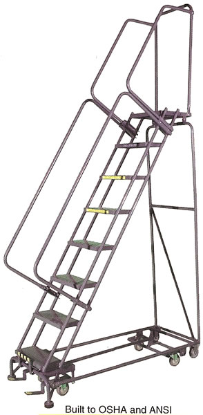 all direction ladders  rolling ladders