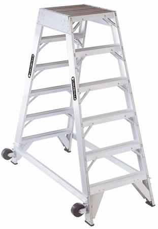 aluminum aircraft mechanic ladder