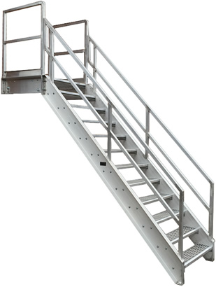 Our Horizontal Stair Extensions To Form The Walkway Most Suited To Your  Building Or Manufacturing Process. The Sketches Below Are
