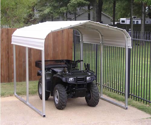 Atv Steel Storage Shelter
