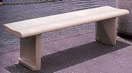 Contour Concrete Bench