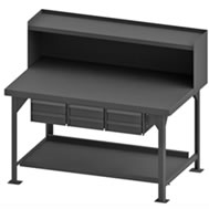 heavy duty fixed workbenches