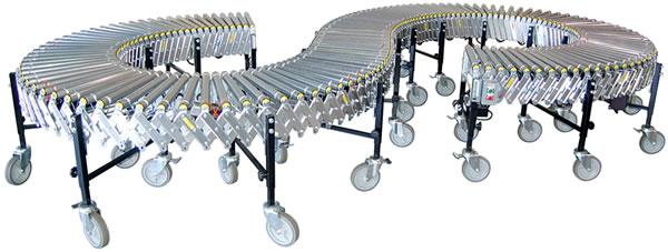 Power/Flex, Flexible Power Roller Conveyor, Conveyor, Roller