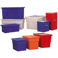 smooth wall shipping & storage containers
