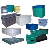 Stacking Containers & Trays