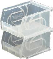 clear series part bins