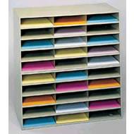 horizontal literature racks