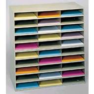 horizontal literature racks