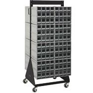 interlocking storage cabinet floor stands