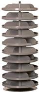 17 inch rotabin revolving shelf units