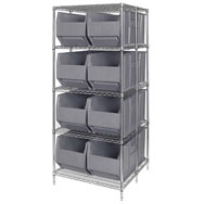 rack bin containers