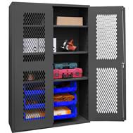 plastic bin & shelf cabinets