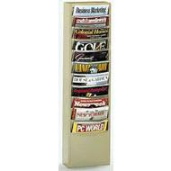 vertical con-tur literature racks