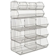 modular wire stacking baskets