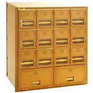 brass mailboxes