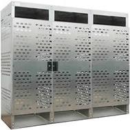 aluminum high pressure cylinder storage cabinets
