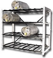 Fork Truck Cylinder Storage Racks