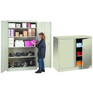 "1000 series 48"" wide storage cabinets"