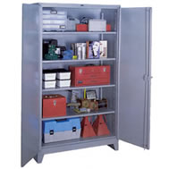 all welded extra wide and comb storage cabinets