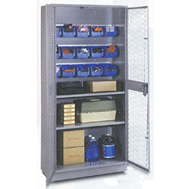 all welded visible storage cabinets