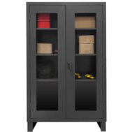 model dm hd welded cabinets (clear view)