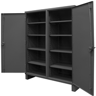 mesh and solid security cabinets