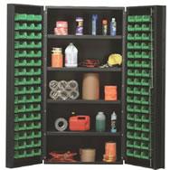 """heavy duty 36"""" wide all-welded bin cabinets"""