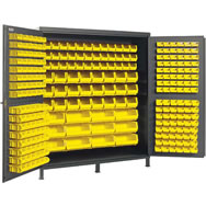 all welded bin cabinets