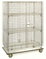 hd super adj and super erecta shelf security units