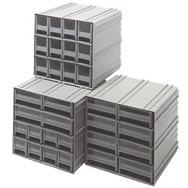 interlocking storage cabinets
