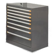 48W x 24D Modular drawer storage system