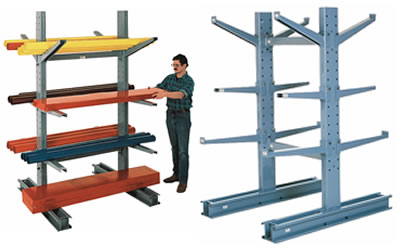 Medium Duty Cantilever Rack Excellent Low Cost Storage