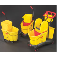 rubbermaid bucket and wringer combination pack