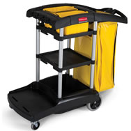 rubbermaid flexi 2000 cleaning cart