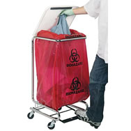 hamper and bin transport cart