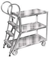 stock picker ladder trucks