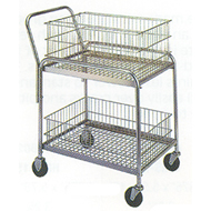 wire office foldaway carts