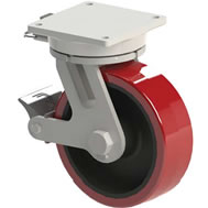 20000 lb maximum capacity casters