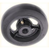 Payvulc Valcanized Mold-On Rubber Wheels