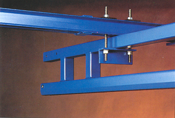standard hanger trussed steel track