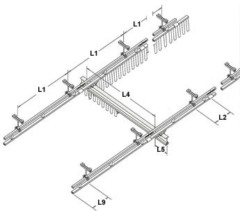 ceiling mounted bridge cranes and monorails dimensions