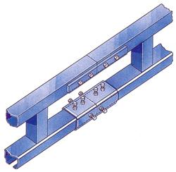 splice joints for steel tracks