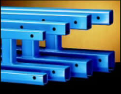 trussed steel track