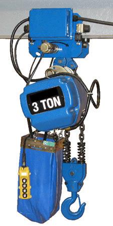 Saturn Chain Hoists Motorized Trolleys For Chain Hoists