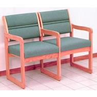 sled base sofas